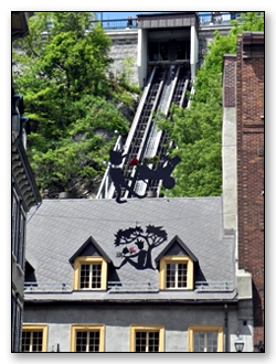 Funiculaire in Quebec City